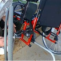 Disassemble Wheelchair Image
