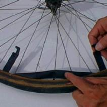 Repair Bike Flat Tire Image